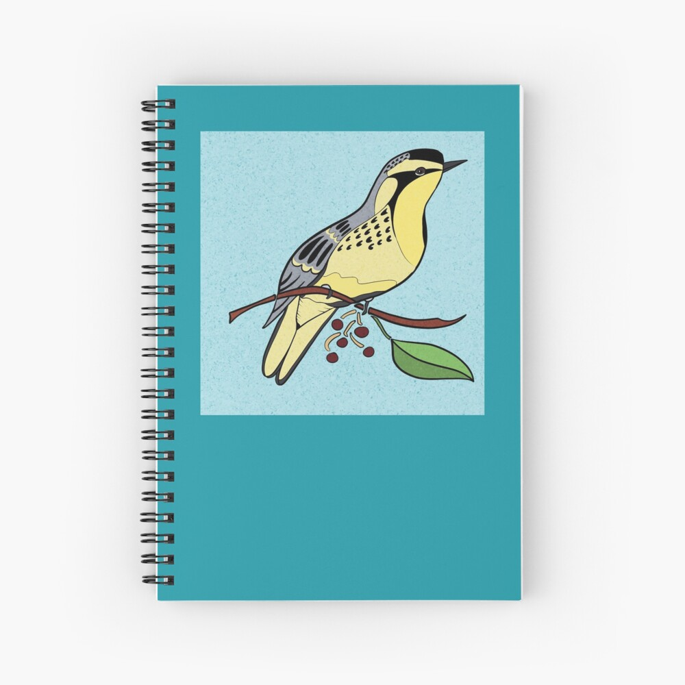 yellowthroatspiral notebook.jpg